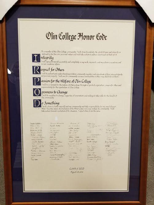 Кодекс чести колледжа Олин, Bogdan Vitoc