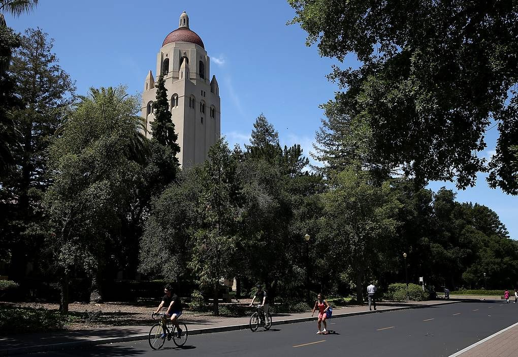 Кампус Стэнфордского университета. Justin Sullivan, Getty Images